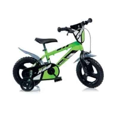 Bicycle 12 inches is recommended for a 3-year-old. Children should of course be able to put your feet firmly on the ground when sitting on the bike.