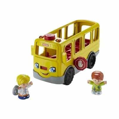 nice gift to a 1-year-old A bus from Fisher price is a nice gift that your kids will love.