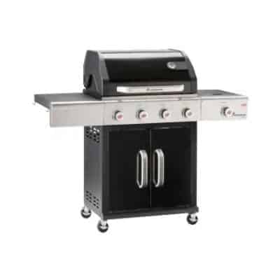 """A large spacious barbecue for grilling also big monsters is """"necessary""""."""