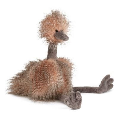Stuffed Animals are a gift that 6-year-olds like to receive. He or she will probably be the only one to have an ostrich.