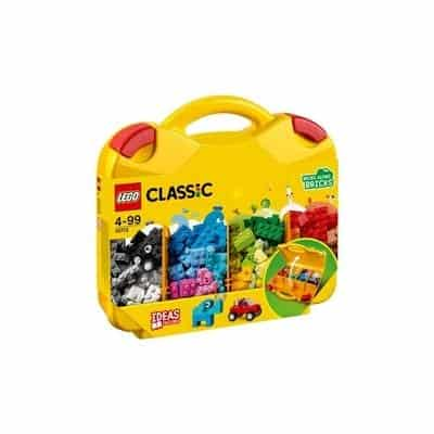 Lego pieces in a bag