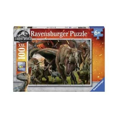 All children usually also like dinosaurs, so this puzzle will probably be appreciated.